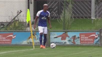 André Carrillo volvió a ver acción en amistoso del Al Hilal