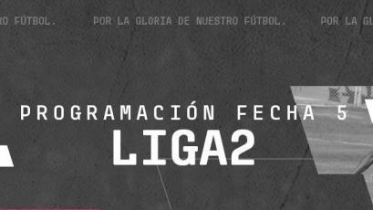 Liga2: Conoce la programación de la quinta fecha