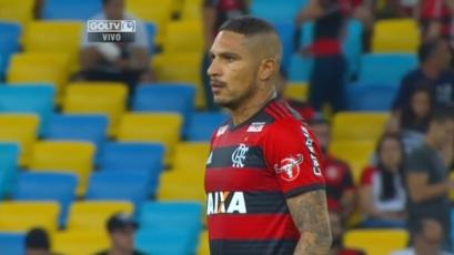 Paolo Guerreo fue titular en triunfo del Flamengo