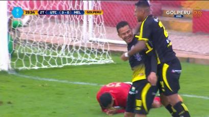 UTC goleó a Melgar al ritmo de Donald Millán y Juan Pablo Vergara