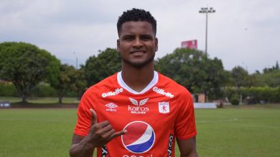 Aldair Rodríguez debutó en el empate del América de Cali 2-2 con el Atlético Nacional