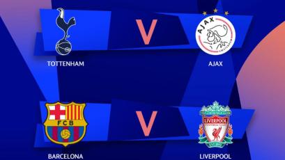 Champions League: fechas y horarios oficiales para los choques de las semifinales