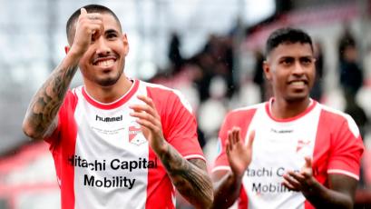 FC Emmen: Sergio Peña y Miguel Araujo, que llevó la cinta de capitán, jugaron en duelo amistoso