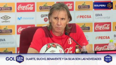 """Ricardo Gareca: """"Los venimos siguiendo desde hace mucho tiempo"""""""