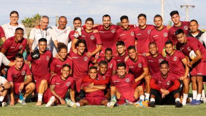 Universitario vs Huracán: este el once que pondría Gregorio Pérez esta noche (FOTOS)