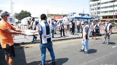 Alianza Lima realizó grandes donativos para ayudar a muchas familias