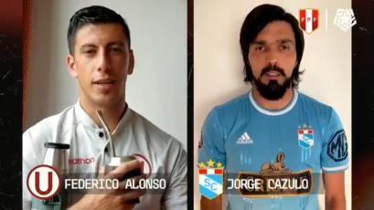 Liga1 Movistar: futbolistas envían mensaje para hacerle frente al coronavirus (VIDEO)