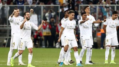 Supercopa de España: Real Madrid se coronó campeón tras superar en penales al Atlético de Madrid