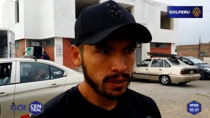 """Joel Sánchez: """"Nosotros pensamos solamente en ganar"""""""
