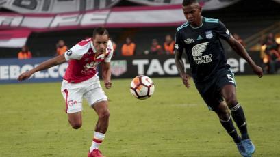 Copa Libertadores: Independiente Santa Fe igualó con Emelec