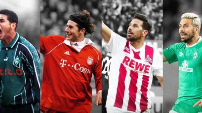 Bundesliga: Claudio Pizarro lidera a los sudamericanos que más destacaron en el certamen