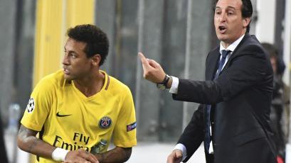 """Unai Emery: """"Mi prioridad era hacer feliz a Neymar, sin importar cómo"""""""