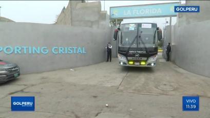 Sporting Cristal:  Así fue el recorrido del bus para enfrentar a la Universidad San Martín en el estadio Alejandro Villanueva (VIDEO)