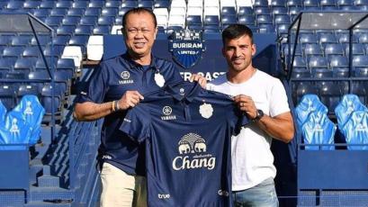 Bernardo Cuesta fue presentado oficialmente en el Buriram United de Tailandia