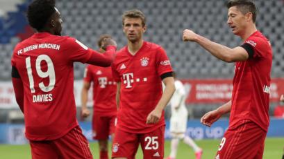 Bundesliga: Bayern Munich no tuvo piedad y goleó por 5-2 al Eintracht Frankfurt