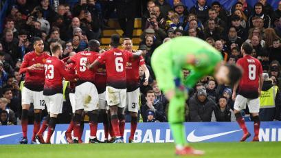 FA Cup: Manchester United eliminó al Chelsea (2-0)