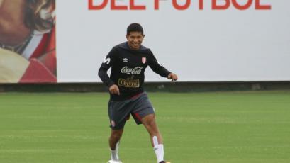 Selección Peruana: Edison Flores se suma a los entrenamientos