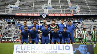 Luis Abram jugó en la victoria de Vélez sobre Banfield