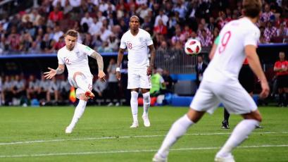 Rusia 2018: Trippier marcó el gol más rápido en los últimos 60 años en semifinales