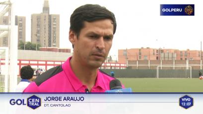 Jorge Araujo sobre el reto de dirigir a Cantolao: