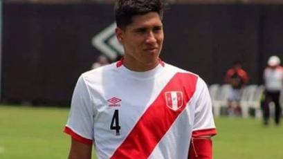 José Luján, defensa de la Selección Peruana Sub23: