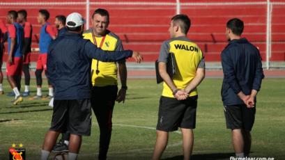 FBC Melgar: Diego Osella dirigió su primera práctica con el primer equipo
