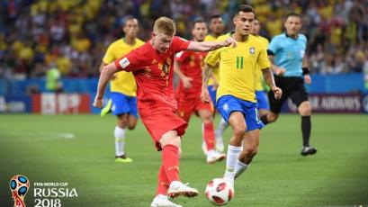 Rusia 2018: Kevin De Bruyne fue la figura en el triunfo de Bélgica sobre Brasil