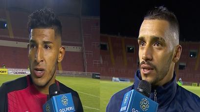 Alexis Arias y Patricio Arce destacaron la victoria ante Real Garcilaso