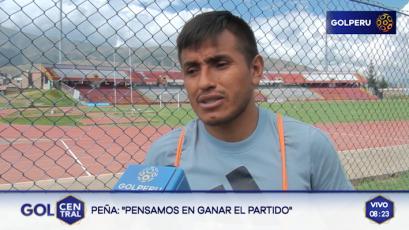 """Víctor Peña: """"Estamos convencidos que podemos ser campeones"""""""
