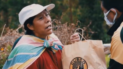 Cusco FC brindó ayuda a las familias más vulnerables en esta crisis por el coronavirus (VIDEO)