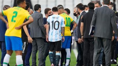 Partido entre Brasil y Argentina se suspendió por la fecha 6 de las Eliminatorias Sudamericanas