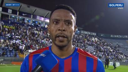 Lionard Pajoy tras el triunfo sobre Alianza Lima: