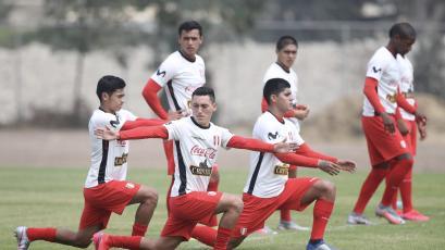 Selección Peruana Sub-20 completó una nueva jornada de entrenamiento en Cieneguilla (FOTOS)