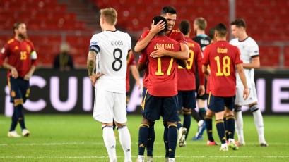 UEFA Nations League: Agónico empate de España sobre la hora para sellar el 1 a 1 ante Alemania