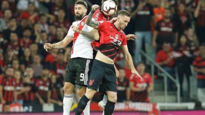 River Plate y Atlético Paranaense definen al campeón de la Recopa Sudamericana