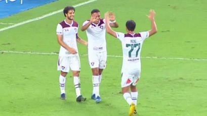Fernando Pacheco anota su primer gol con Fluminense en el fútbol brasileño (VIDEO)