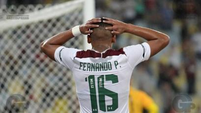 Fernando Pacheco tuvo una buena presentación en el clásico entre Flamengo y Fluminense (VIDEO)