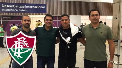 Fernando Pacheco llegó a Río de Janeiro para firmar por Fluminense: