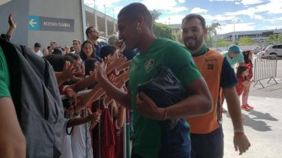 Fluminense convocó a Fernando Pacheco para disputar el clásico ante Flamengo en el Maracaná