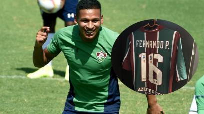 Fernando Pacheco debutaría esta tarde en Fluminense: su camiseta ya se luce en el Maracaná