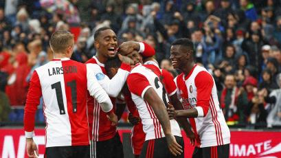 Europa League: Feyenoord venció 2-0 al Porto con Renato Tapia en los 90 minutos (VIDEO)