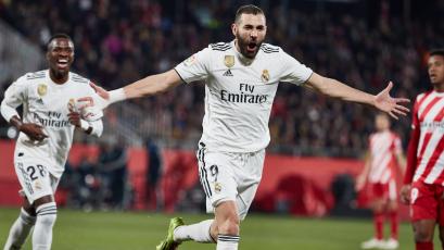 Copa del Rey: Karim Benzema le da una nueva victoria al Real Madrid