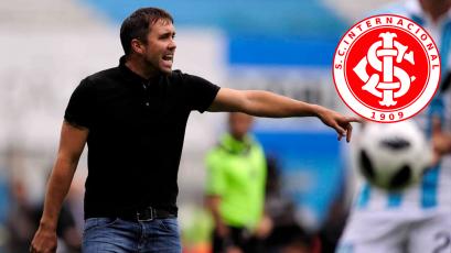 Eduardo Coudet es el nuevo técnico del Internacional de Paolo Guerrero
