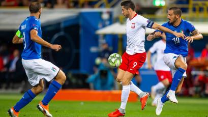 Italia empató 1-1 con Polonia en la Liga de Naciones