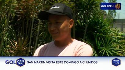 """Jesús Pretell: """"Lo mejor que me pudo pasar es que me presten a la San Martín"""""""