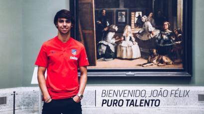 Atlético de Madrid hace oficial los fichajes de Joao Félix, Héctor Herrera y Felipe