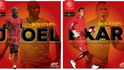 Segunda División: Jhoel Herrera y Exar Rosales refuerzan a Juan Aurich