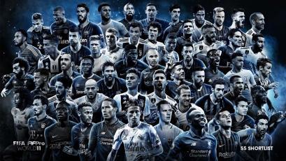 FIFPro: estos son los 55 nominados al equipo del año