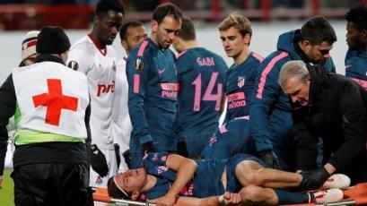 Lesión de Filipe Luis lo dejaría fuera del Mundial con Brasil