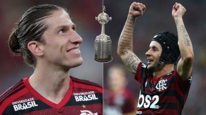 Filipe Luis y Rafinha, los jugadores que dejaron Europa para alcanzar la gloria (GIFS)